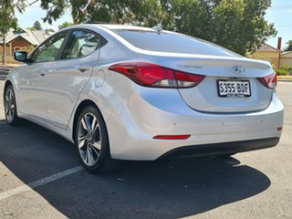 2014 Hyundai Elantra MD3 Premium Silver 6 Speed Sports Automatic Sedan