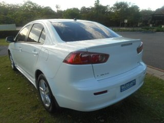 2009 Mitsubishi Lancer CJ MY09 ES 6 Speed CVT Auto Sequential Sedan