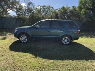 2010 Ford Territory SY MkII TS AWD Green 6 Speed Sports Automatic Wagon