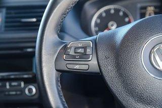 2012 Volkswagen Jetta 1B MY13 118TSI DSG Black 7 Speed Sports Automatic Dual Clutch Sedan
