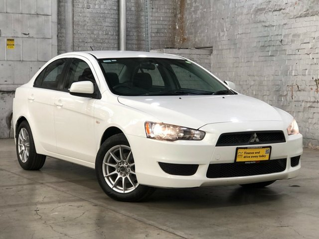 Used Mitsubishi Lancer CJ MY13 ES Mile End South, 2013 Mitsubishi Lancer CJ MY13 ES White 6 Speed Constant Variable Sedan