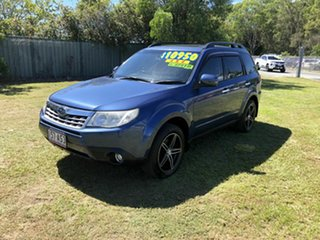 2011 Subaru Forester S3 MY11 X AWD Blue 5 Speed Manual Wagon.