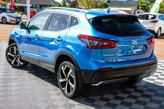 2019 Nissan Qashqai J11 Series 2 Ti X-tronic Vivid Blue 1 Speed Constant Variable Wagon.