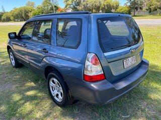 2006 Subaru Forester 79V MY06 X AWD Blue 4 Speed Automatic Wagon
