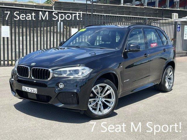 Used BMW X5 F15 xDrive30d Newcastle, 2016 BMW X5 F15 xDrive30d Black 8 Speed Sports Automatic Wagon