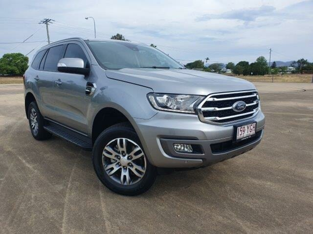 Used Ford Everest UA II 2019.00MY Trend Townsville, 2018 Ford Everest UA II 2019.00MY Trend Aluminium 10 Speed Sports Automatic SUV
