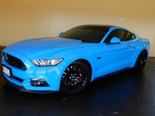 2016 Ford Mustang FM MY17 Fastback GT 5.0 V8 Blue 6 Speed Manual Coupe