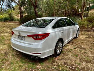 2015 Hyundai Sonata LF Active Ice White 6 Speed Sports Automatic Sedan.