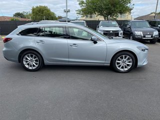 2015 Mazda 6 GJ1022 Touring SKYACTIV-Drive Silver 6 Speed Sports Automatic Wagon.
