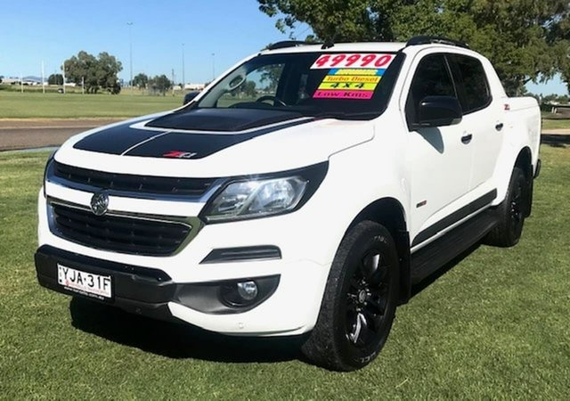 Used Holden Colorado RG MY18 Z71 Pickup Crew Cab Tamworth, 2017 Holden Colorado RG MY18 Z71 Pickup Crew Cab White 6 Speed Sports Automatic Utility