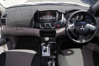 2014 Mitsubishi Triton MN MY15 GLX Double Cab White Solid 4 Speed Sports Automatic Utility