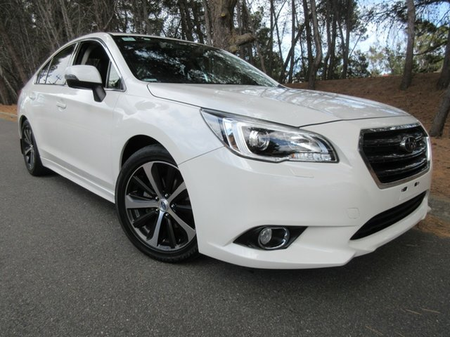Used Subaru Liberty B6 MY15 2.5i CVT AWD Premium Reynella, 2015 Subaru Liberty B6 MY15 2.5i CVT AWD Premium White 6 Speed Constant Variable Sedan