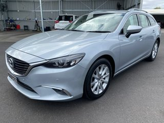 2015 Mazda 6 GJ1022 Touring SKYACTIV-Drive Silver 6 Speed Sports Automatic Wagon