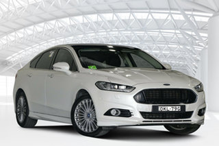 2016 Ford Mondeo MD Titanium White 6 Speed Sports Automatic Dual Clutch Hatchback.