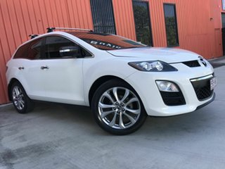2011 Mazda CX-7 ER10L2 Classic Activematic White 5 Speed Sports Automatic Wagon.