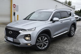 2018 Hyundai Santa Fe TM MY19 Elite Silver 8 Speed Sports Automatic Wagon.