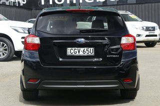 2012 Subaru Impreza G4 MY13 2.0i Lineartronic AWD Black 6 Speed Constant Variable Hatchback