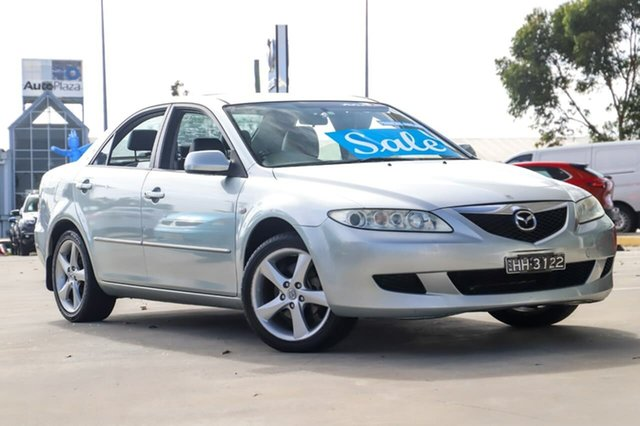Used Mazda 6 GG1032 Luxury Kirrawee, 2005 Mazda 6 GG1032 Luxury Silver 5 Speed Sports Automatic Sedan