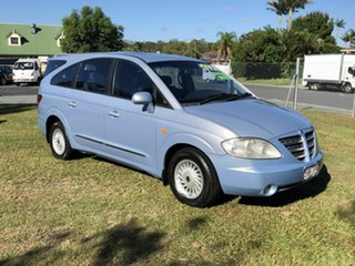 2005 Ssangyong Stavic A100 Limited Blue 5 Speed Sports Automatic Wagon.