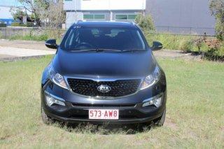2015 Kia Sportage QL MY16 Platinum AWD Black 6 Speed Sports Automatic Wagon.