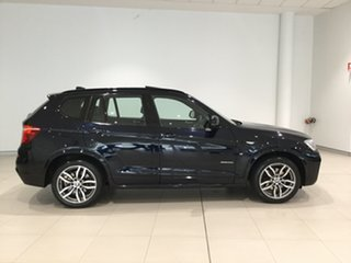 2015 BMW X3 F25 LCI MY0414 xDrive20i Steptronic Blue 8 Speed Automatic Wagon.