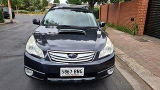 2011 Subaru Outback MY11 2.0D Premium (Sat-Nav) Grey & Black 6 Speed Manual Wagon