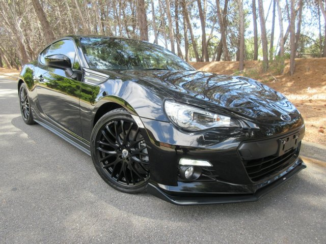 Used Subaru BRZ Z1 MY15 Reynella, 2015 Subaru BRZ Z1 MY15 Black 6 Speed Manual Coupe