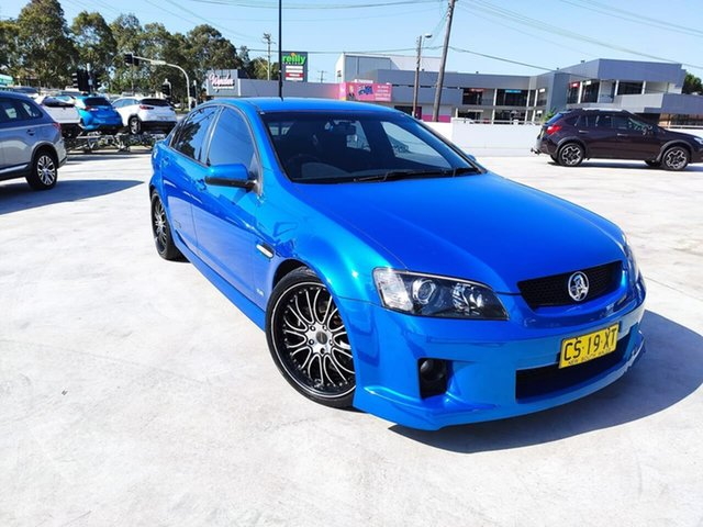 Used Holden Commodore VE SS V Liverpool, 2008 Holden Commodore VE SS V Blue 6 Speed Sports Automatic Sedan