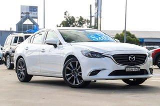 2015 Mazda 6 GJ1032 GT SKYACTIV-Drive Crystal White Pearl 6 Speed Sports Automatic Sedan.