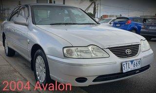 2004 Toyota Avalon MCX10R Mark III GXi Silver 4 Speed Automatic Sedan.