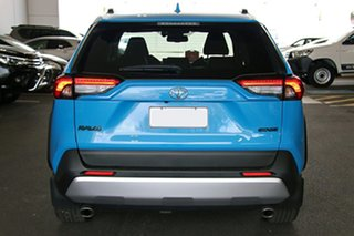 2020 Toyota RAV4 Axaa54R Edge AWD Eclectic Blue 8 Speed Sports Automatic Wagon