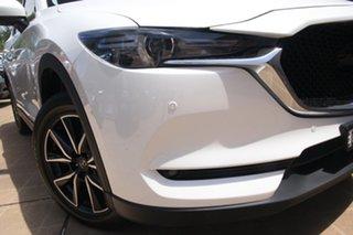 2017 Mazda CX-5 MY17 GT (4x4) White 6 Speed Automatic Wagon.