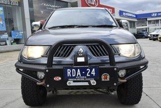 2009 Mitsubishi Triton ML MY09 GLX-R Double Cab Grey 4 Speed Automatic Utility.