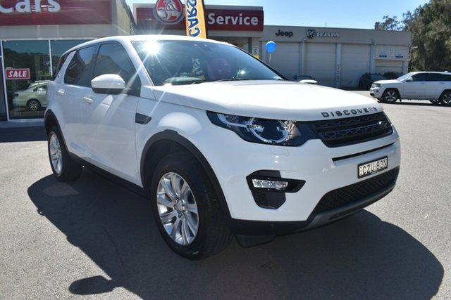 Used Land Rover Discovery Sport L550 16.5MY SE Gosford, 2015 Land Rover Discovery Sport L550 16.5MY SE White 9 Speed Sports Automatic Wagon