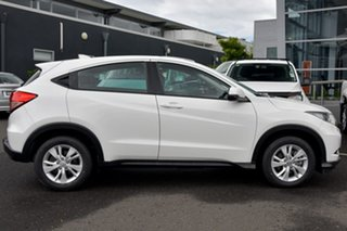 2015 Honda HR-V MY15 VTi White 1 Speed Constant Variable Hatchback.
