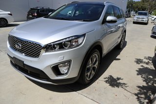 2016 Kia Sorento UM MY17 Platinum AWD Silver 6 Speed Sports Automatic Wagon.