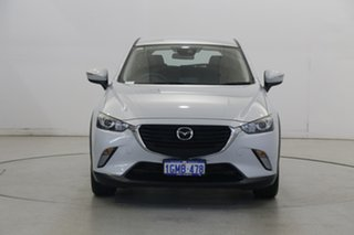 2017 Mazda CX-3 DK2W7A Maxx SKYACTIV-Drive White 6 Speed Sports Automatic Wagon.