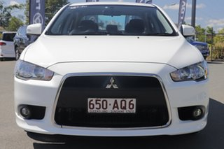 2015 Mitsubishi Lancer CJ MY15 LS White Solid 6 Speed Constant Variable Sedan