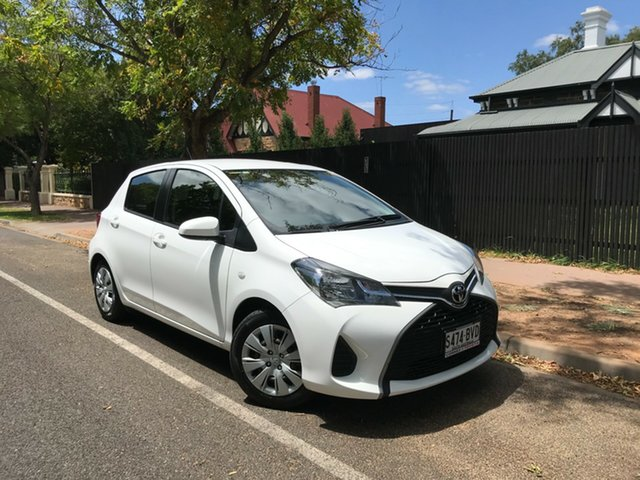 Pre-Owned Toyota Yaris NCP130R Ascent Hawthorn, 2016 Toyota Yaris NCP130R Ascent 16/cloth 5 Speed Manual Hatchback