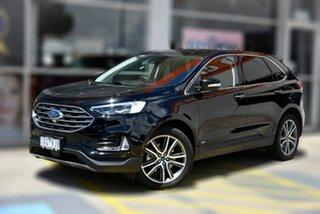 2019 Ford Endura CA 2019MY Titanium Black 8 Speed Sports Automatic Wagon.