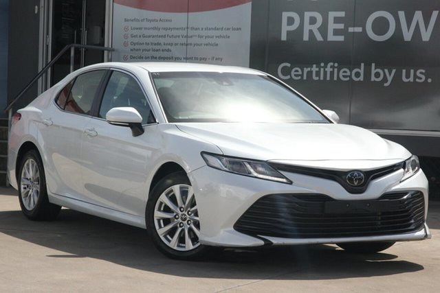 Pre-Owned Toyota Camry ASV70R Ascent Guildford, 2019 Toyota Camry ASV70R Ascent Frosted White 6 Speed Automatic Sedan