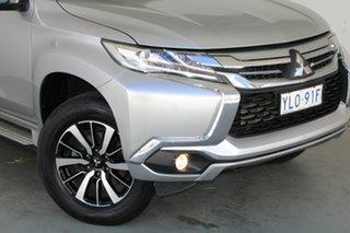 2016 Mitsubishi Pajero Sport QE MY16 GLX Sterling Silver 8 Speed Sports Automatic Wagon.