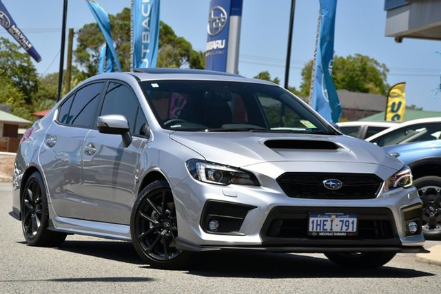 Demo Subaru WRX V1 MY21 Premium Lineartronic AWD Melville, 2020 Subaru WRX V1 MY21 Premium Lineartronic AWD Ice Silver 8 Speed Constant Variable Sedan