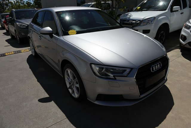 Used Audi A3 8V MY16 Attraction Sportback S Tronic Castle Hill, 2016 Audi A3 8V MY16 Attraction Sportback S Tronic Silver 7 Speed Sports Automatic Dual Clutch