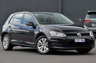 2014 Volkswagen Golf VII MY15 90TSI DSG Comfortline Black 7 Speed Sports Automatic Dual Clutch