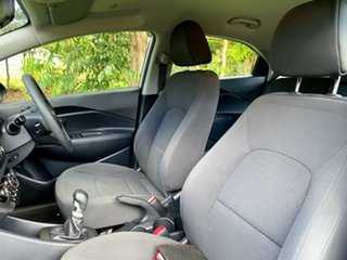 2013 Kia Rio UB MY13 S Bright Silver 6 Speed Manual Hatchback
