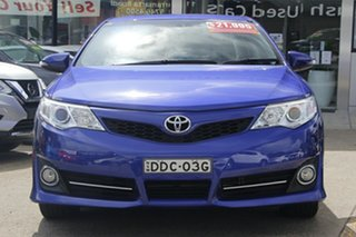 2014 Toyota Camry ASV50R Atara SL Blue 6 Speed Sports Automatic Sedan