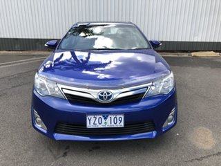 2012 Toyota Camry AVV50R Hybrid HL Blue 1 Speed Constant Variable Sedan Hybrid