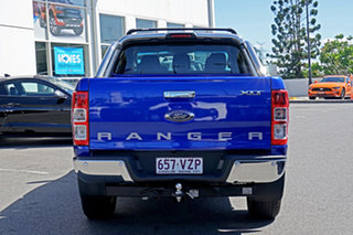 2015 Ford Ranger PX MkII XLT Double Cab Blue 6 Speed Manual Utility