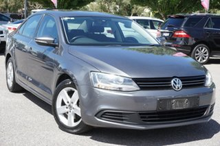 2012 Volkswagen Jetta 1B MY12.5 103TDI DSG Comfortline Grey 6 Speed Sports Automatic Dual Clutch.